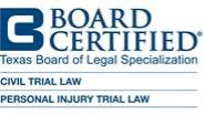 Board Certified Personal Injury Lawyer